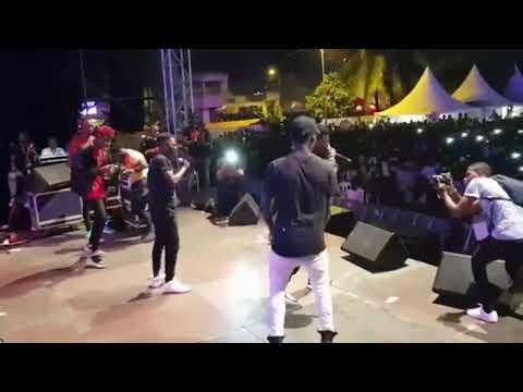 KGB & MC ONE - Performance Au Festival Des Grillades