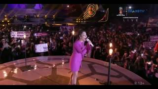 Konser Bunga Citra Lestari (BCL) - Kecewa || Konser Piala Dunia 2018 Di Sunburst BSD City