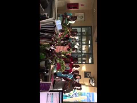 "Imani Milele Children's Choir of Uganda Sings ""Amazing Grace"" at the Downtown Boise YMCA"