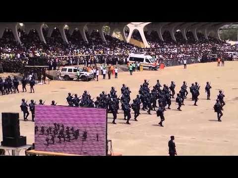 Ghana - Independence Parade, Accra, 6th March 2015