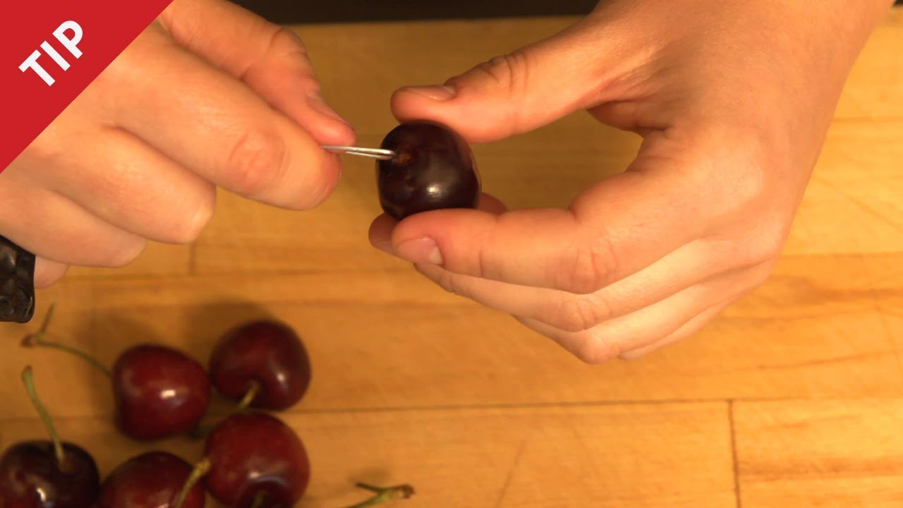 How to Pit Cherries without a Cherry Pitter | Allrecipes
