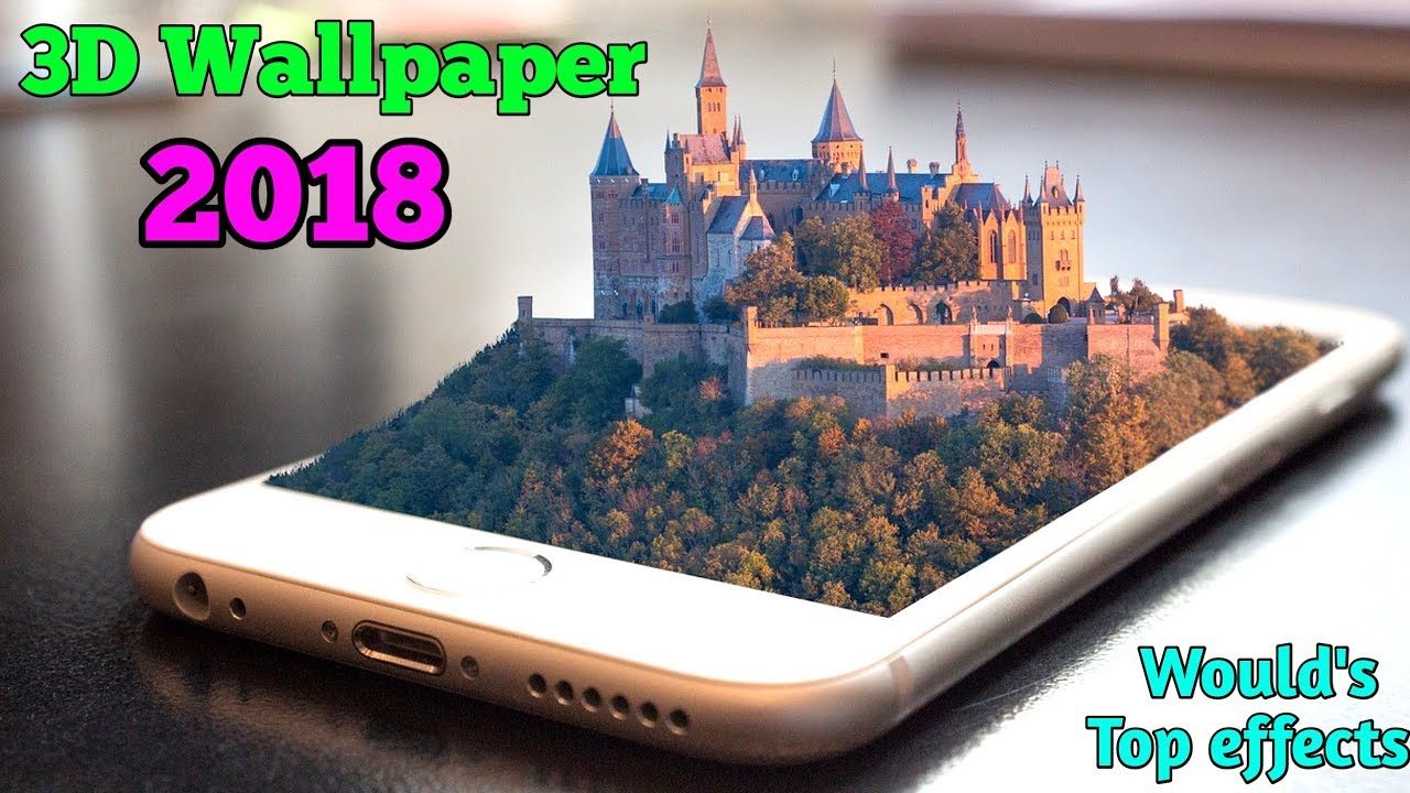 3D Parallax background || Best 3D Wallpapers 2018 ( 4k Ultra HD, Full HD ) live Wallpaper - YouTube