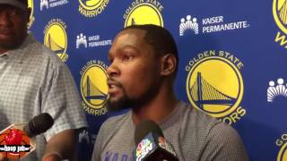 Kevin Durant Says Demar DeRozan Has The Best Footwork He's Seen in A Long Time. HoopJab Boxing