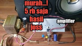 Download Video Amplifier murah sederhana suara joss.. MP3 3GP MP4