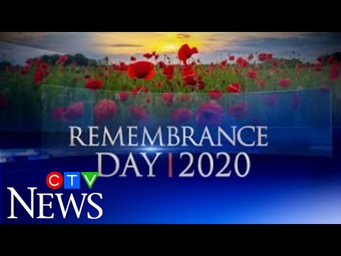 CTV News Special: Coverage of Remembrance Day 2020 amid COVID-19
