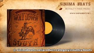 Way Down South Instrumental with Hook (Country Blues style Rap Beat) Sinima Beats