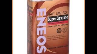 Моторное масло ENEOS Super Gasoline, 5W30 SM, 0.946 л, синтетическое