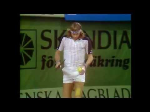 1980 Stockholm Open Final Borg vs McEnroe