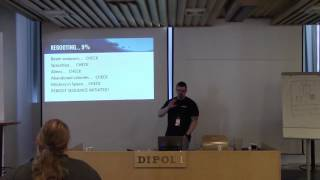 Ropecon 2015: Miska Fredman: Hyperstorm – SciFi RPG project kick-off