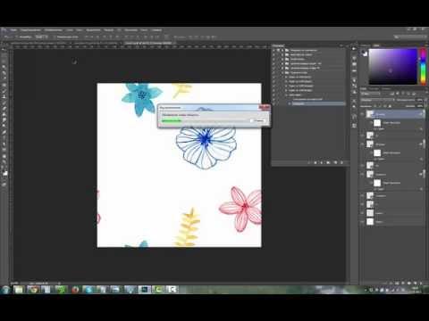 Создание бесшовного узора с помощью Adobe Photoshop.