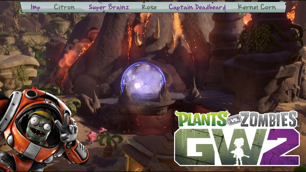 Plants vs. Zombies Garden Warfare 2: Character Class Dev ...