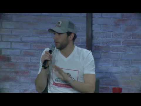 Zachary Levi answers Katie's question about faith