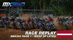 MXGP of Latvia 2019 - Replay EMX 250 Race 1 #Motocross