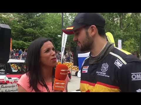 Javier Pardo valora su 52 Rally de Ourense