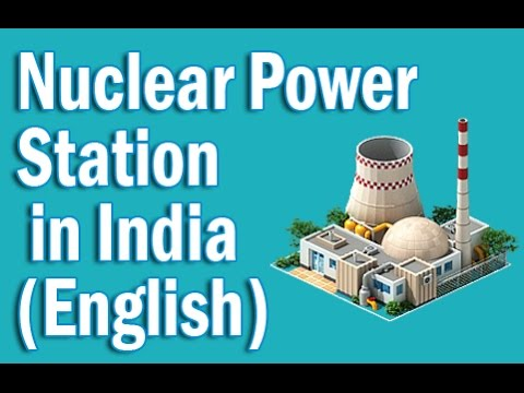 Nuclear and Thermal Power Station in India in English | Static GK