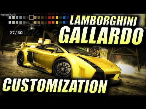 Lamborghini Gallardo - Customization - NFS Most Wanted 2005