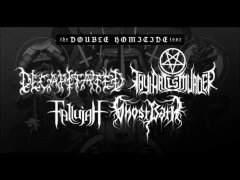 Decapitated, Thy Art Is Murder, Fallujah + Ghost Bath 'The Double Homicide Tour' 2017!