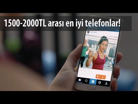 1500 - 2000 TL Arası En İyi Akıllı Telefonlar