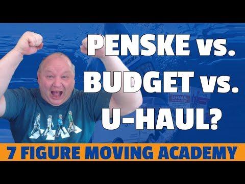 Moving Truck Rentals: Penske v Budget v Uhaul