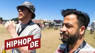 Deichkind international? Ferris MC & Rooz im Interview #waslos (Openair Frauenfeld)