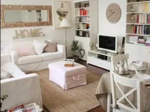 Living Room Decorating Ideas Shabby Chic diy shabby chic living room decorations - youtube