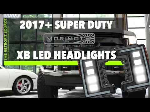 2017 Ford Super Duty Morimoto Xb Led Headlights F250 F350 F450