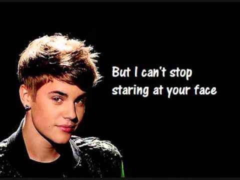 Justin Bieber   Mistletoe acoustic (Lyrics)