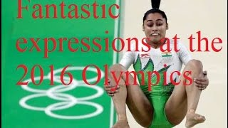 Rio Olympics 2016 : Fantastic Expressions at The 2016 Olympics