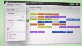 Making The Work Schedule With The Scheduler