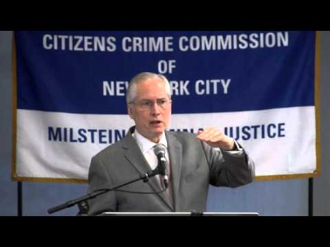 Jeremy Travis & Preeti Chauhan Present to the Citizens Crime Commission