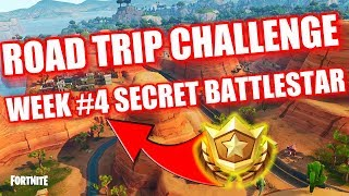 Fortnite - Road Trip Challenge Secret Battlestar Location Week #4