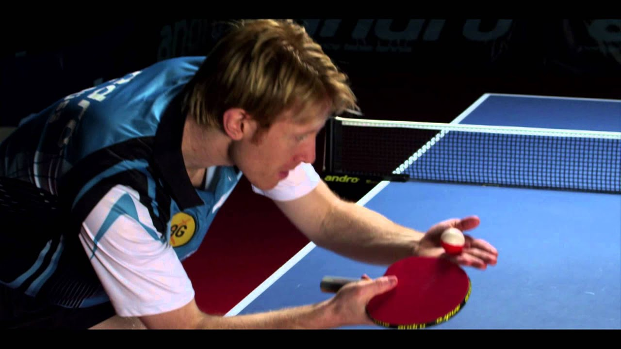 Aufschlag Tischtennis