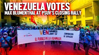 The Grayzone:  Venezuela's Chavistas hold massive rally for legislative victory in Caracas Max Blumenthal reports from the final rally of the governing PSUV party in Caracas, From YouTubeVideos