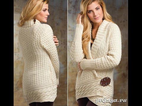 Модели Вязаных КАРДИГАНОВ Спицами - фото - 2017 / Models knitted cardigan knitting needles - photo