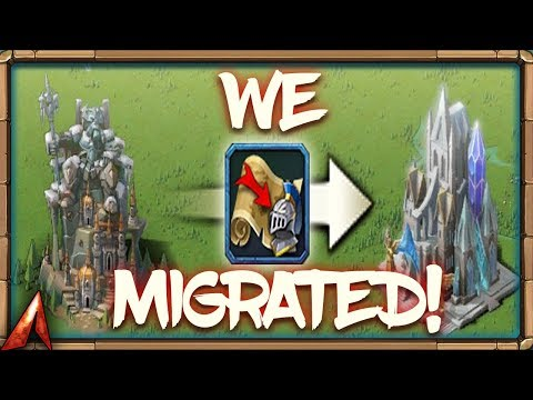 Migrating To New Kingdom! Lords Mobile