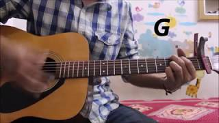 Chhod Diya - Arijit Singh - Bazaar - Hindi Guitar Cover Lesson chords easy