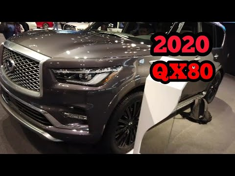 2020 Infiniti Qx80 5 6l Limited Chicago Auto Show Youtube