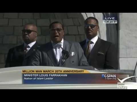 "Louis Farrakhan Full Speech ""Million Man March""; Nation Of Islam; 10-10-2015"