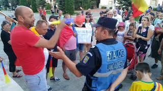Protest la Suceava, 11 august 2018