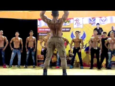 234 SC Challenge Body Contest 2017, Cibinong - Middle Muscle Big 20 & Big 10