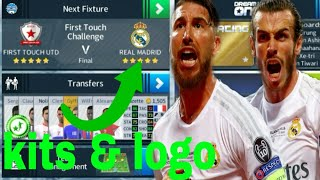 How to create Real Madird New Kits & Logo 2018/19 | Dream League Soccer 2018