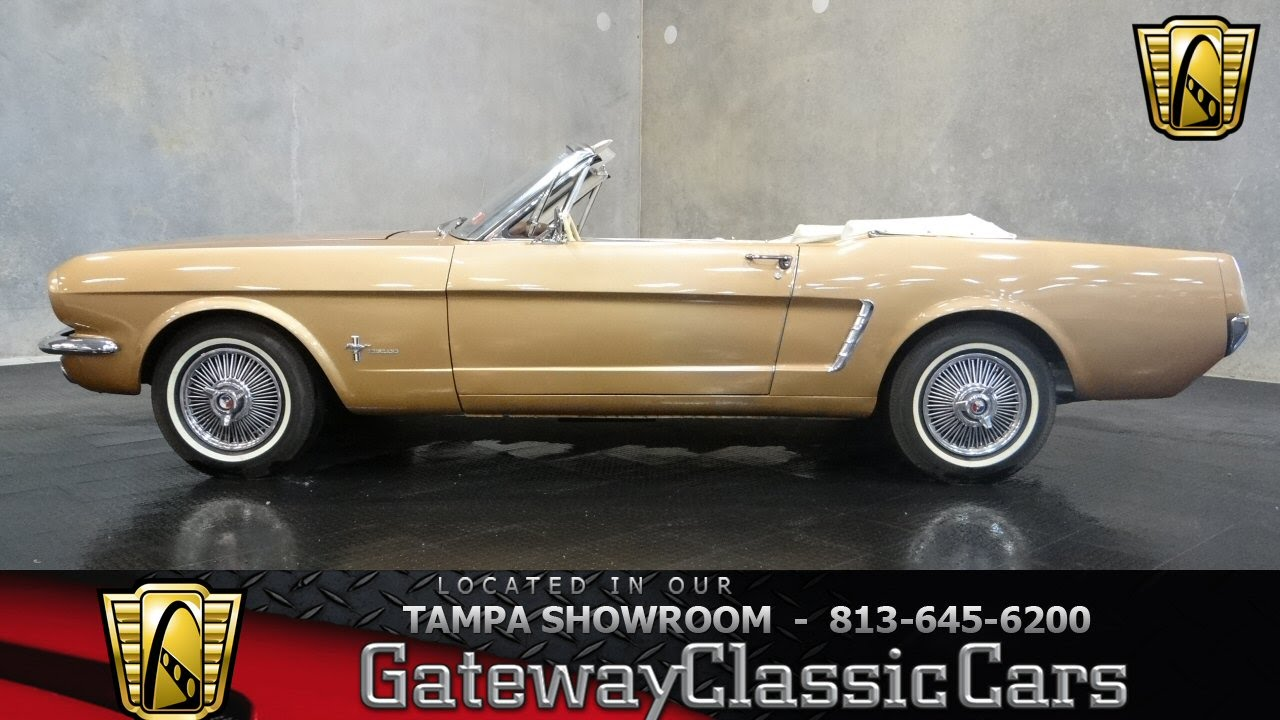 1964 1 2 Ford Mustang Convertible Youtube