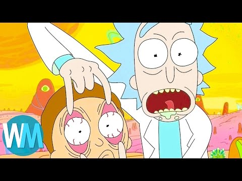 Top 10 Best Moments From Rick and Morty