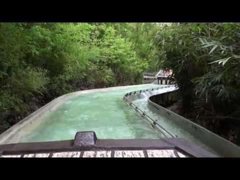 Dragon Falls (POV) Chessington World of Adventures