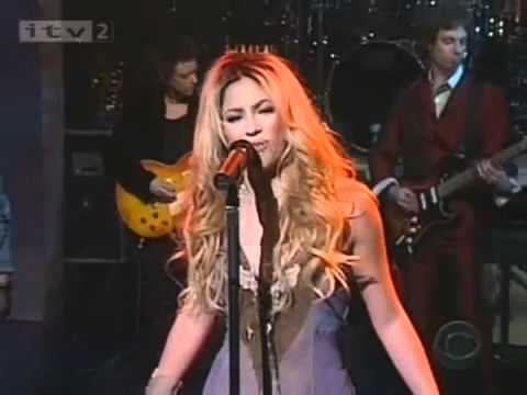 Shakira Underneath Your Clothes Live Youtube