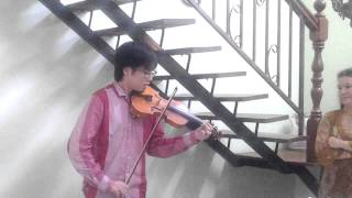 Leon Onn Violinist/ Song from Secret Garden @Datin Rafiq ( Hari Raya )