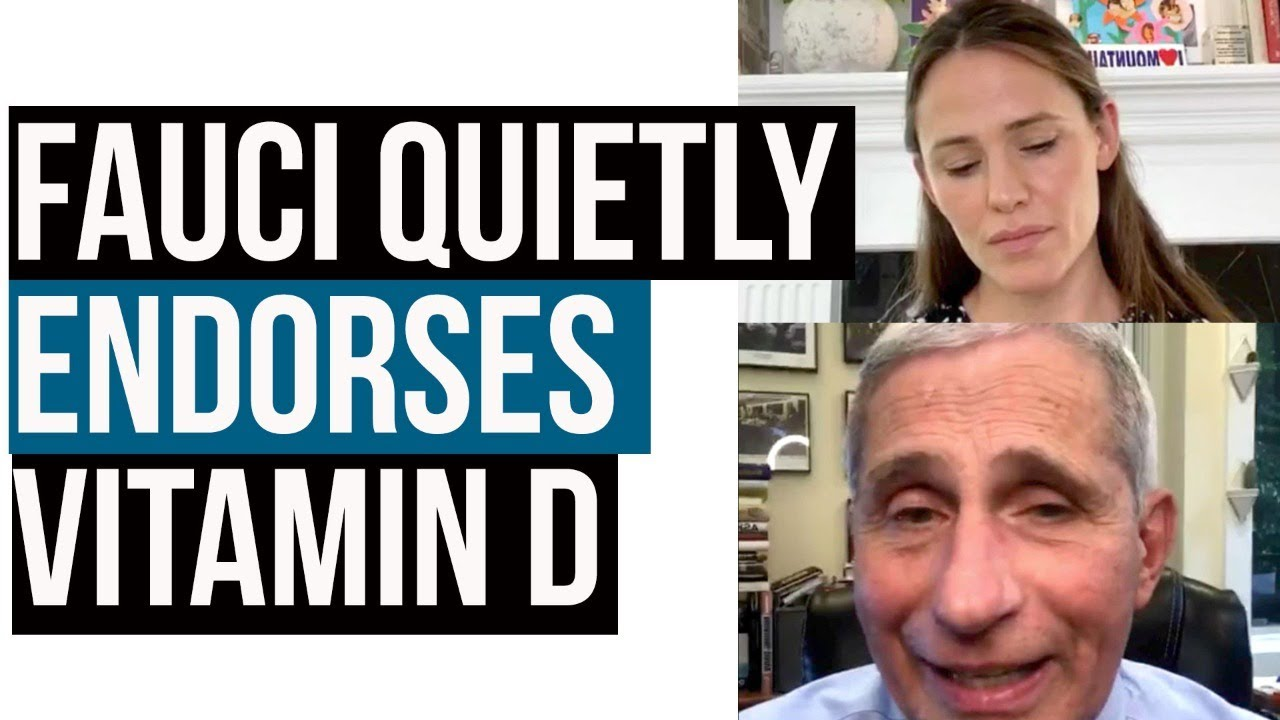 Anthony Fauci Says Vitamin D Lessen Your Susceptibility to Infection