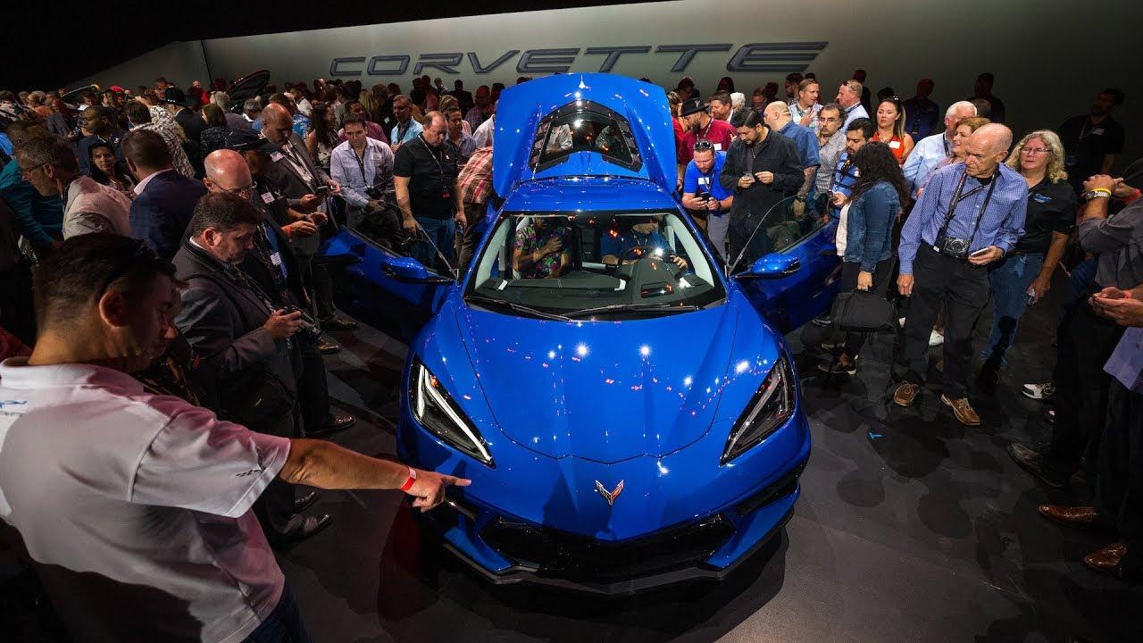 2020 Mid Engine Chevrolet Corvette Stingray Unveiled In Tustin Ca