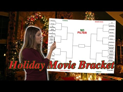 Holiday Movie Bracket