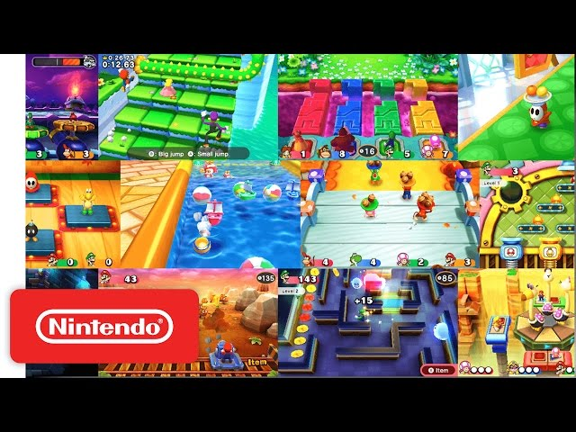 Mario Party Star Rush - Launch Trailer